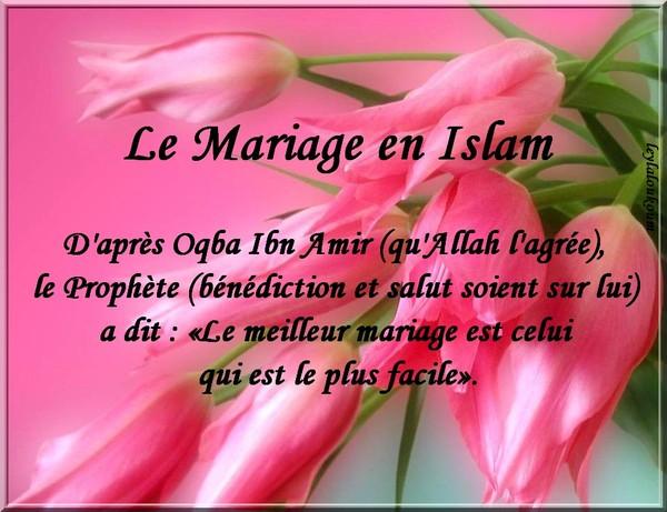 Cherche femme pour mariage islam