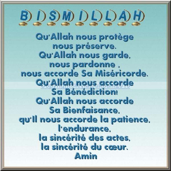 Très frères et soeurs Qu'Allah nous protège nous préserve FU44