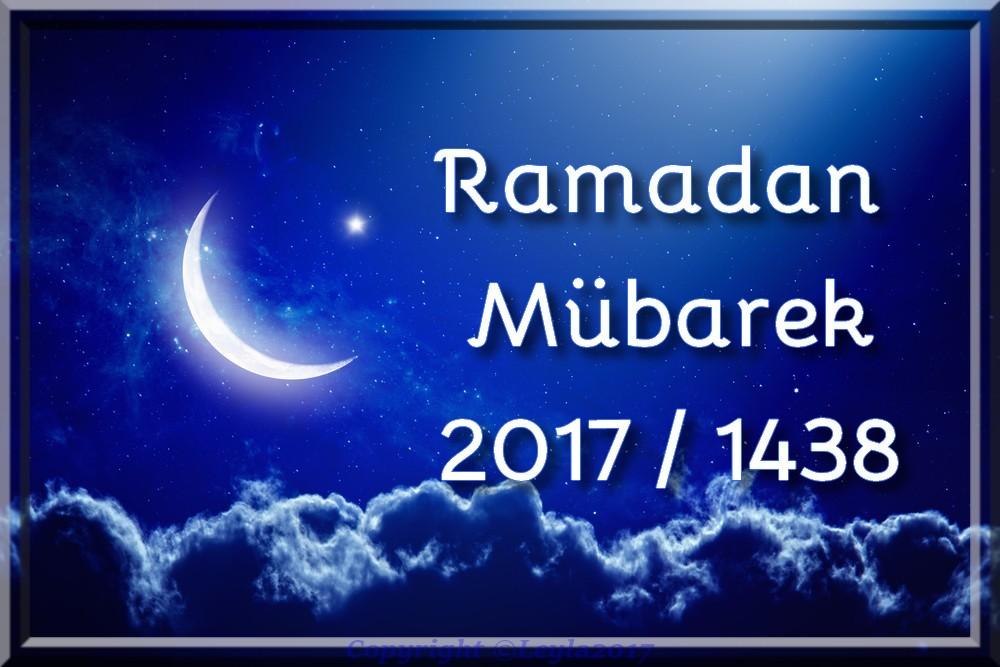 La date de début du ramadan 2017 est samedi 27 mai